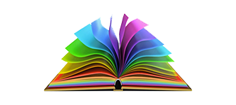 Book with Rainbow pages