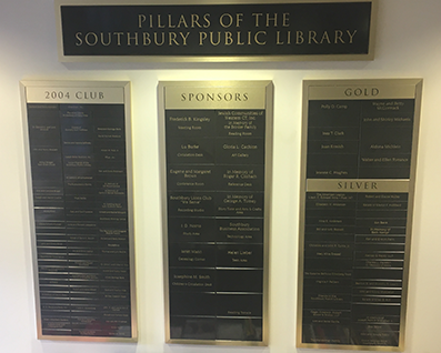 Southbury Donor Wall