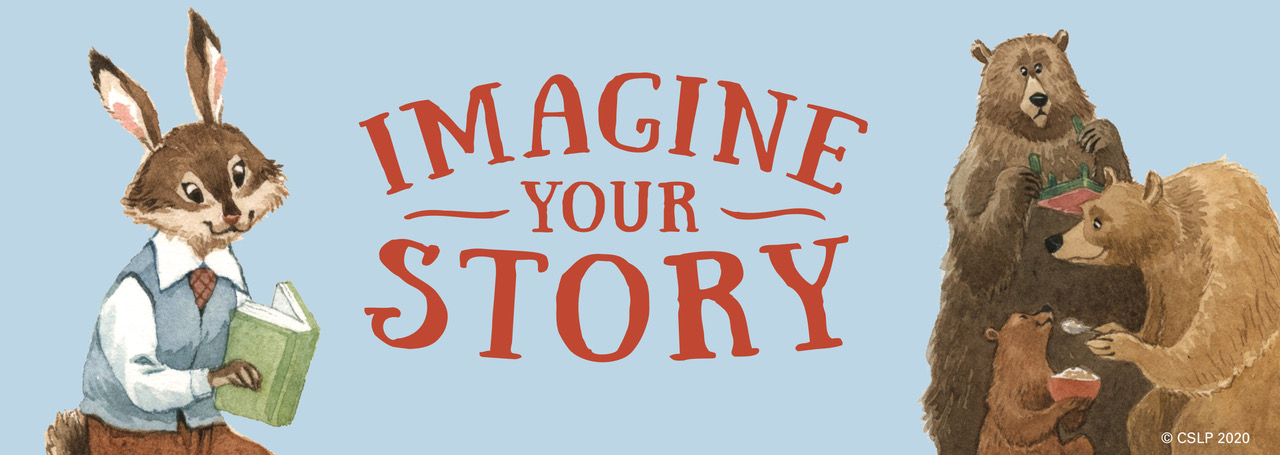 Imagine Your Story Rabbit and Bears