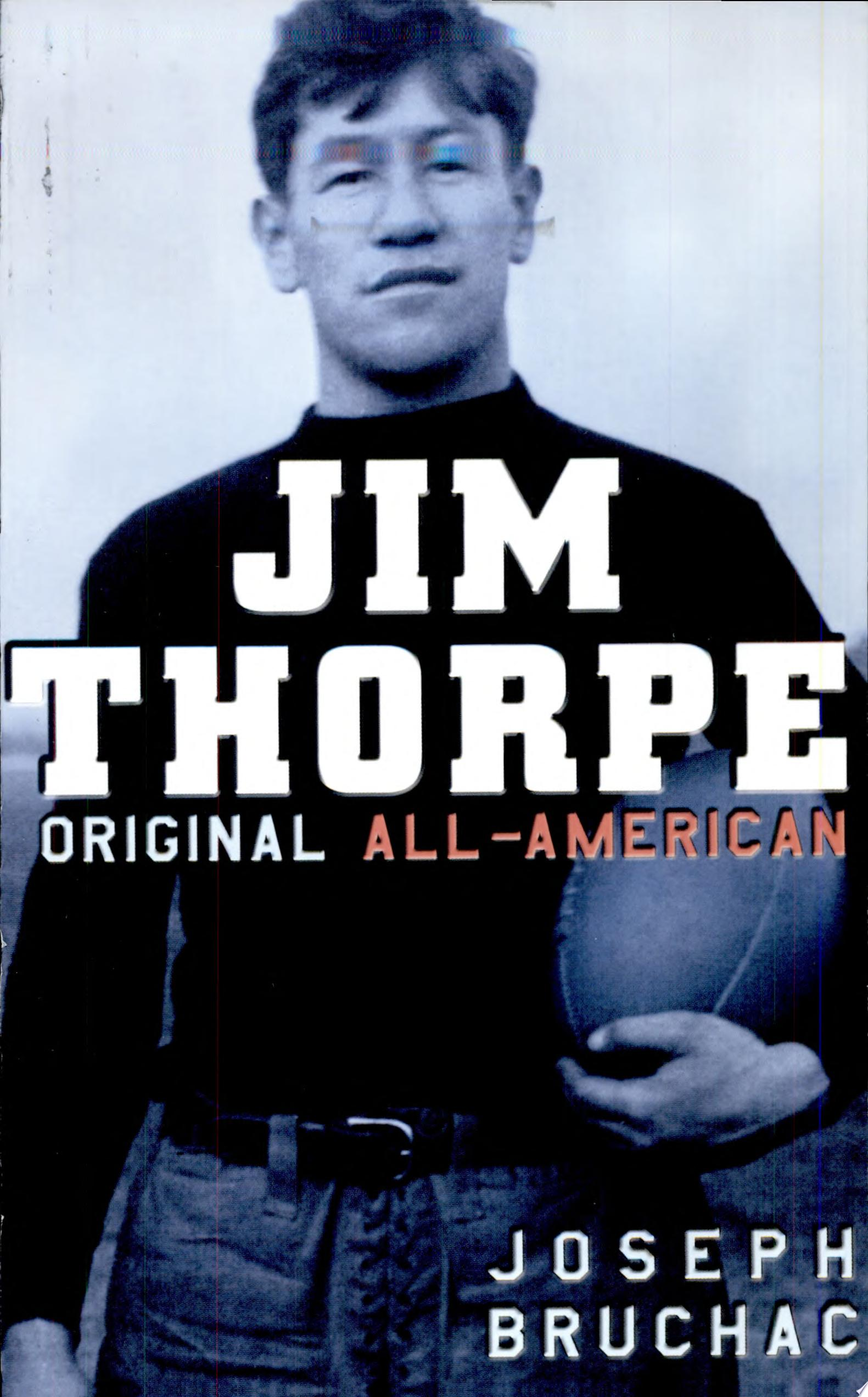"Cover Image for ""Jim Thorpe: Original All American"""