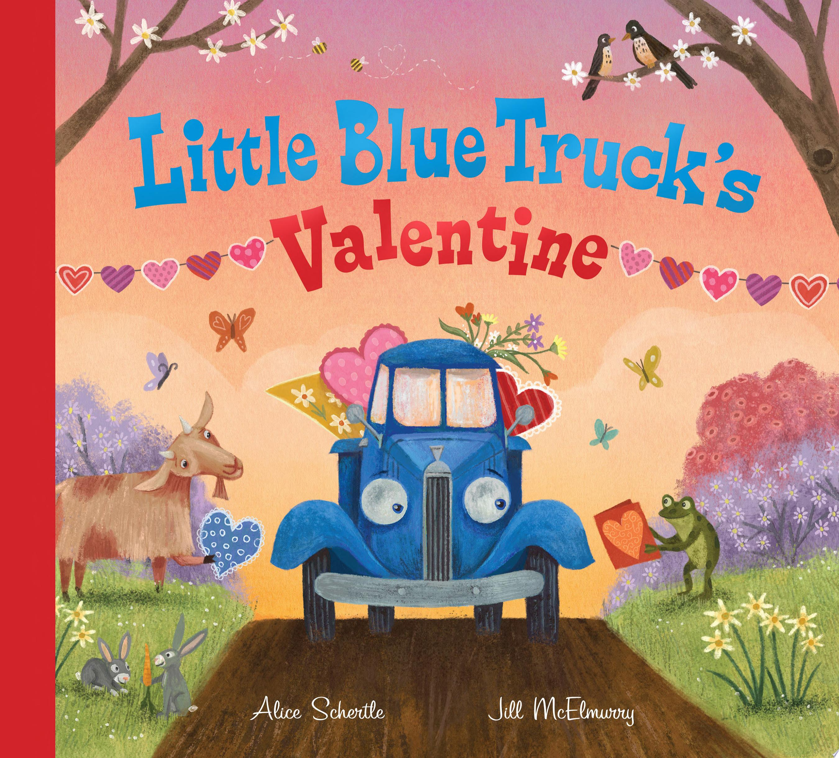 "Image for ""Little Blue Truck's Valentine"""