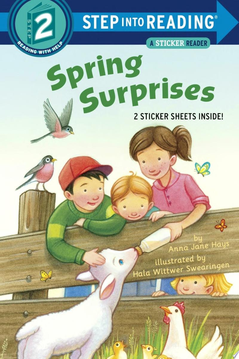 "Image for ""Spring Surprises [With Sticker(s)]"""