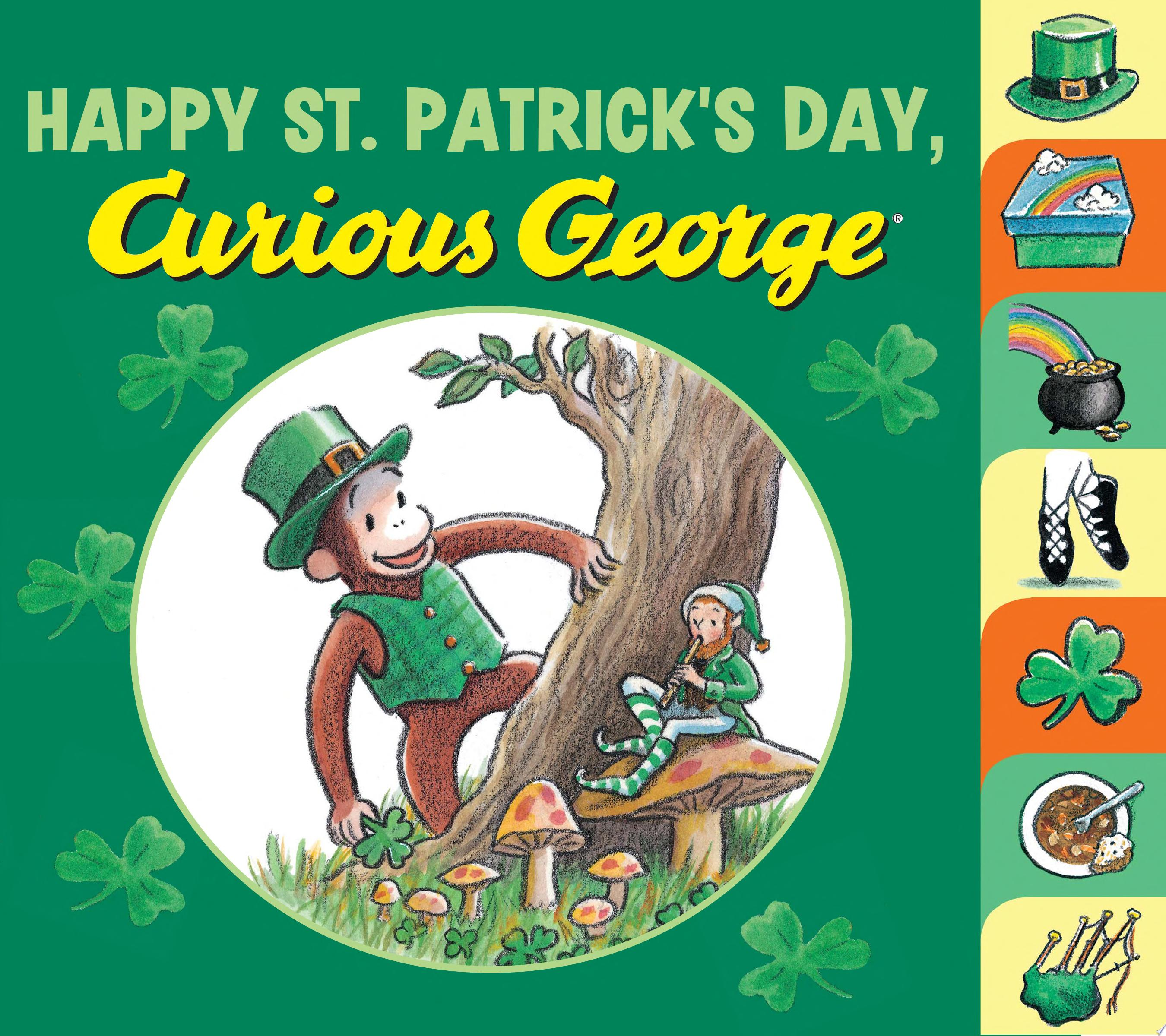 "Image for ""Happy St. Patrick's Day, Curious George"""