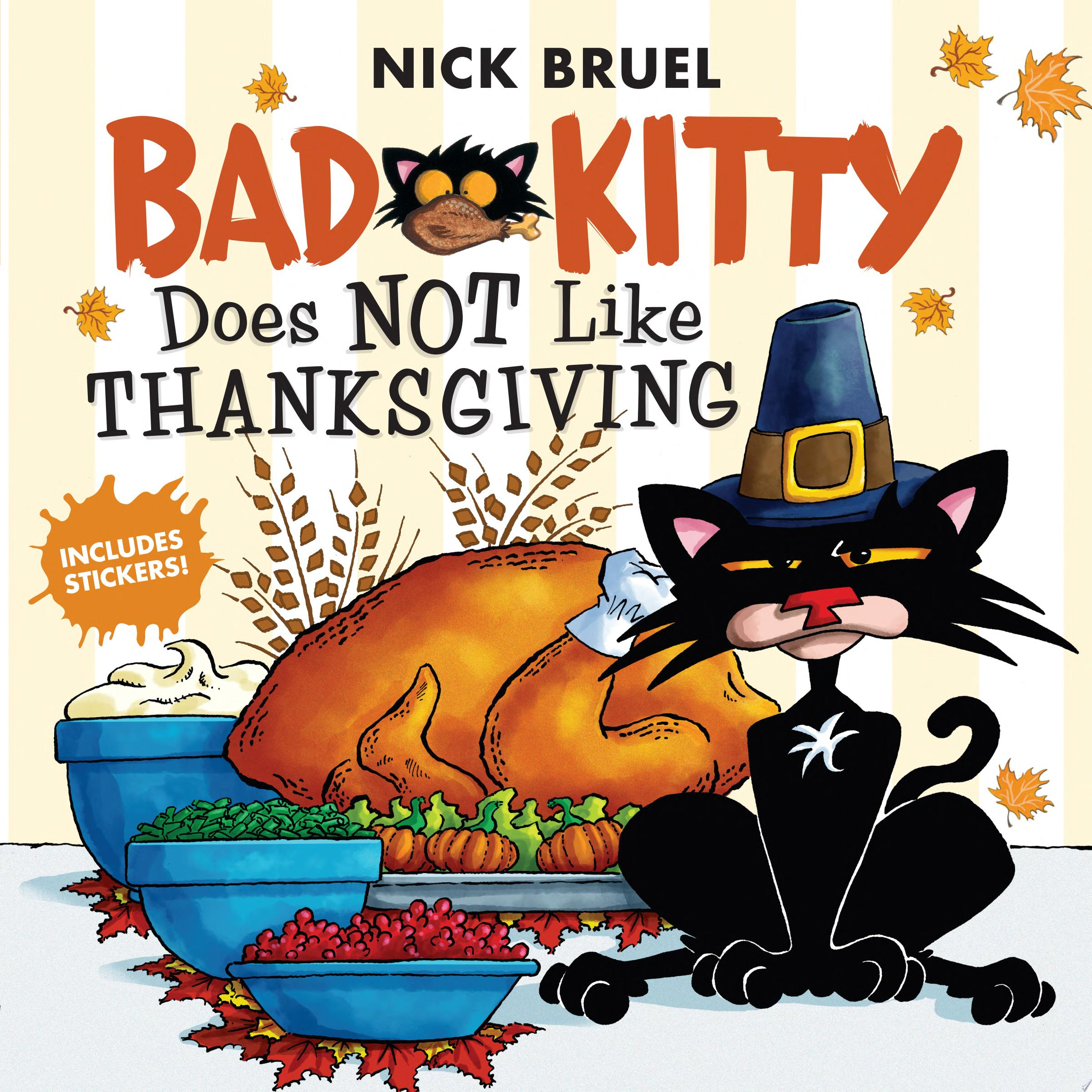 "Image for ""Bad Kitty Does Not Like Thanksgiving"""