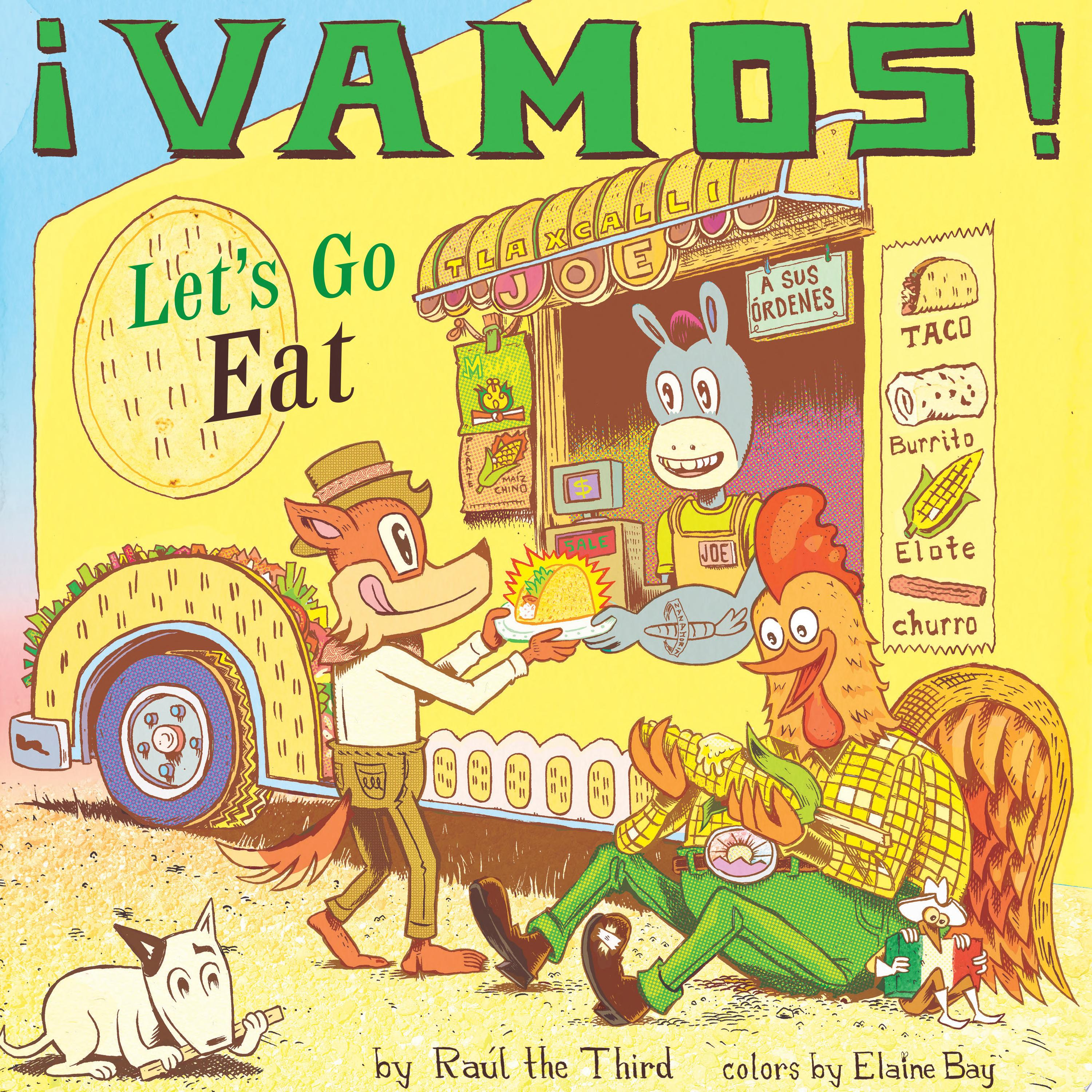"Image for ""¡Vamos!: Let's Go Eat"""