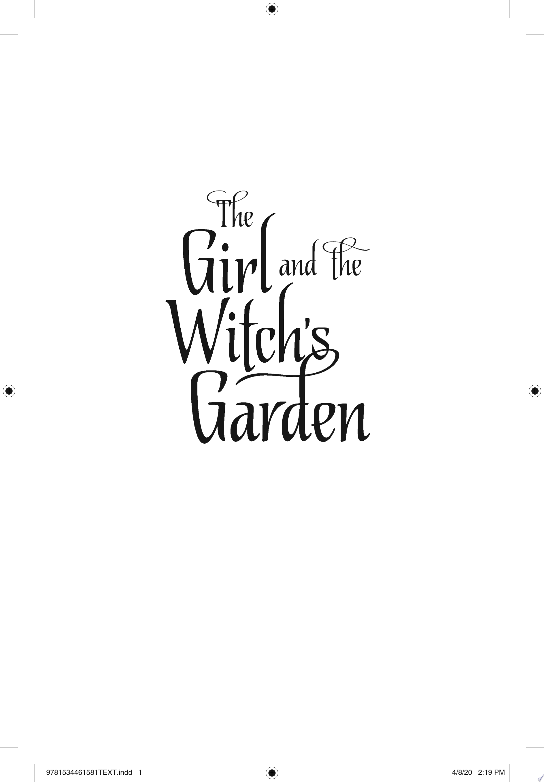 "Image for ""The Girl and the Witch's Garden"""