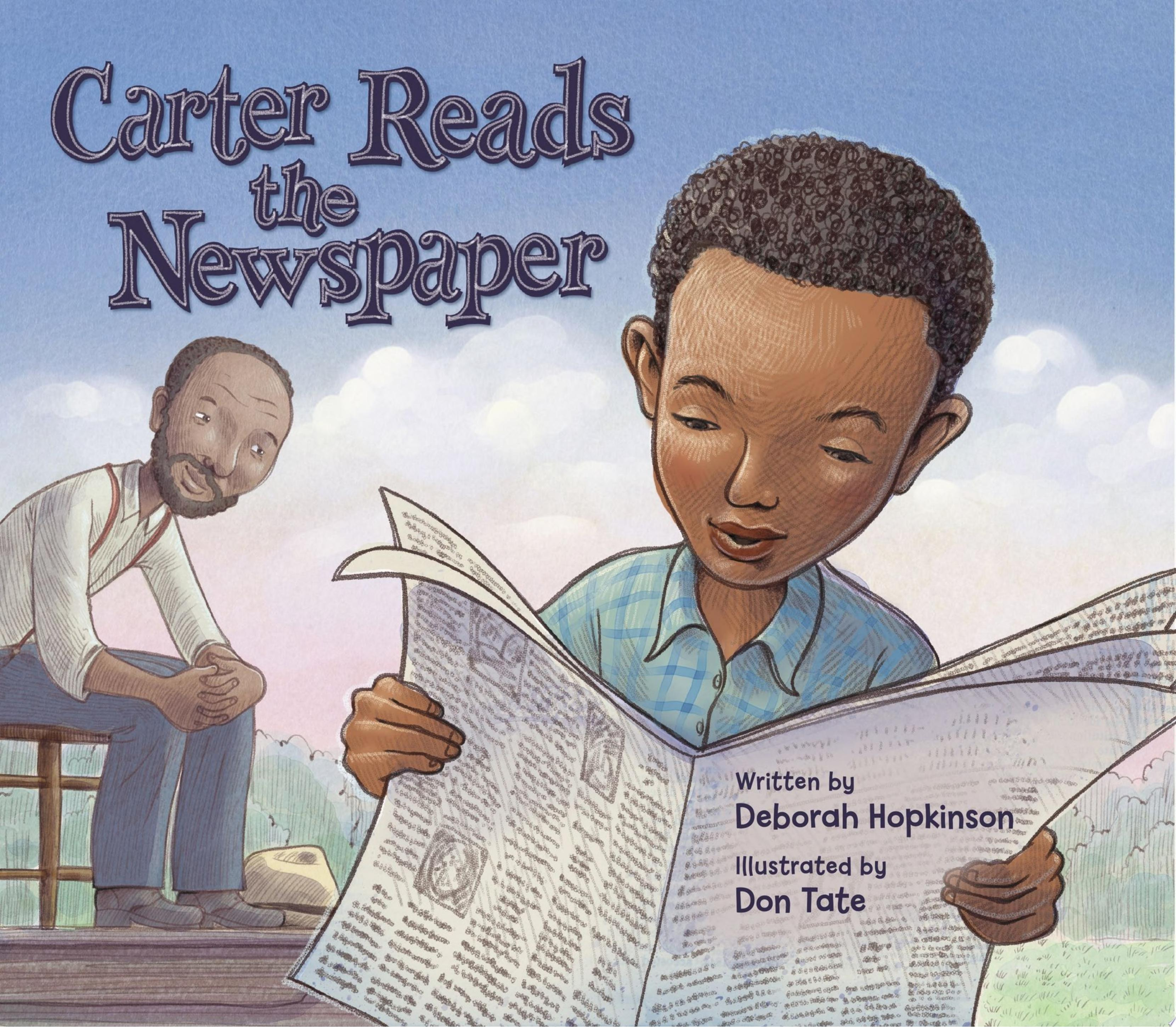 "Image for ""Carter Reads the Newspaper"""