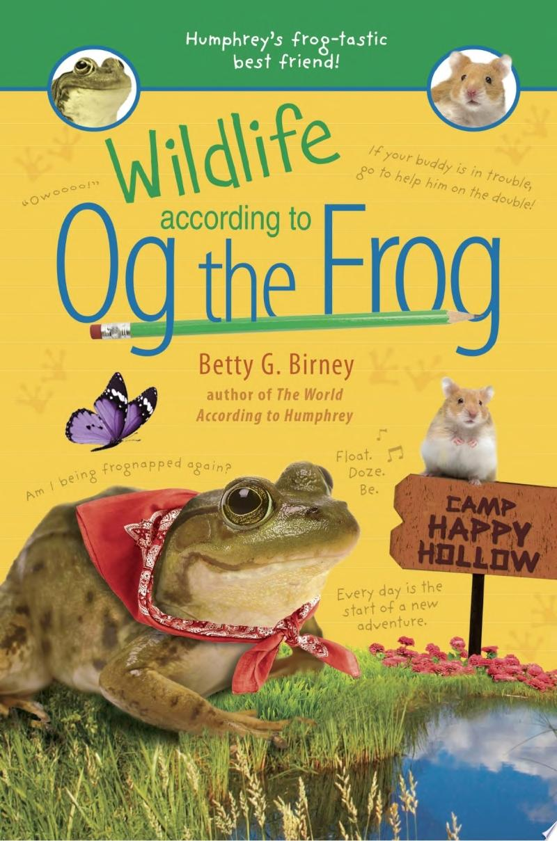 "Image for ""Wildlife According to Og the Frog"""