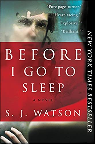 "Cover of ""Before I Go to Sleep"""