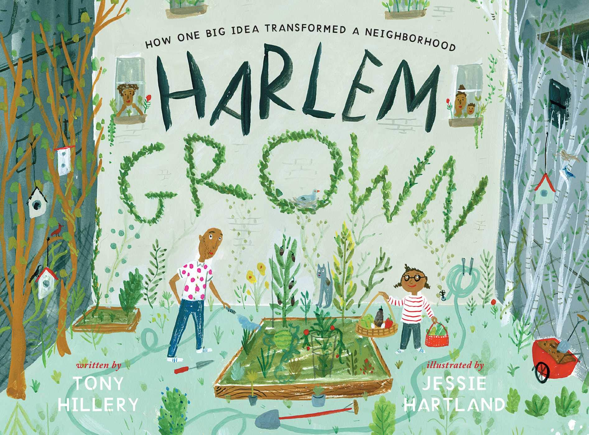 Book cover for Harlem Grown