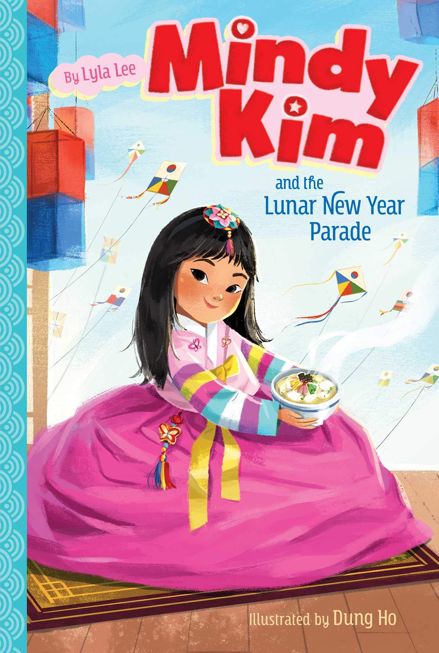 """Mindy Kim and the Lunar New Year Parade"" book cover"