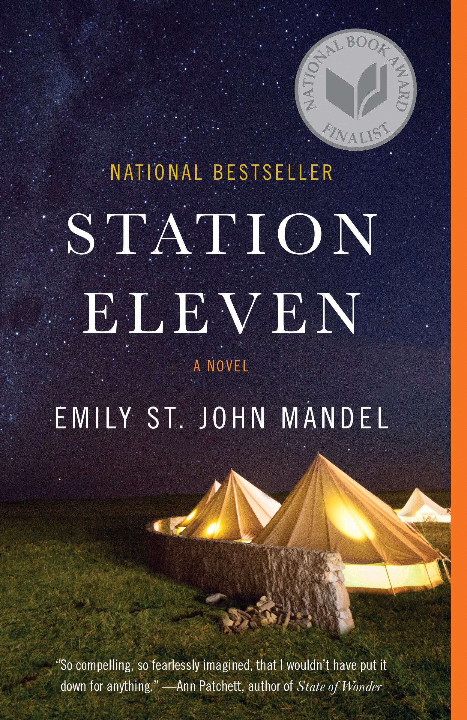 "Cover of ""Station Eleven"" by Emily St. John Mandel"