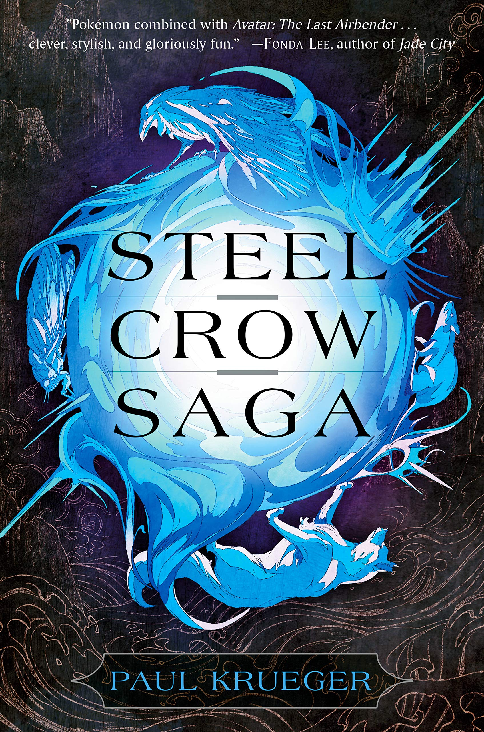 "Cover of ""Steel Crow Saga"""