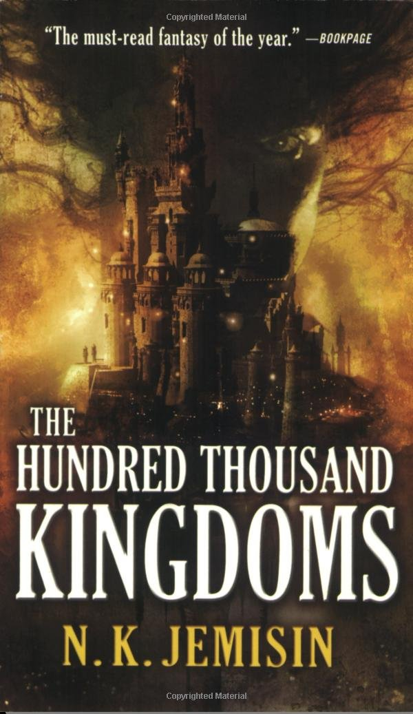 "Cover of ""The Hundred Thousand Kingdoms"""
