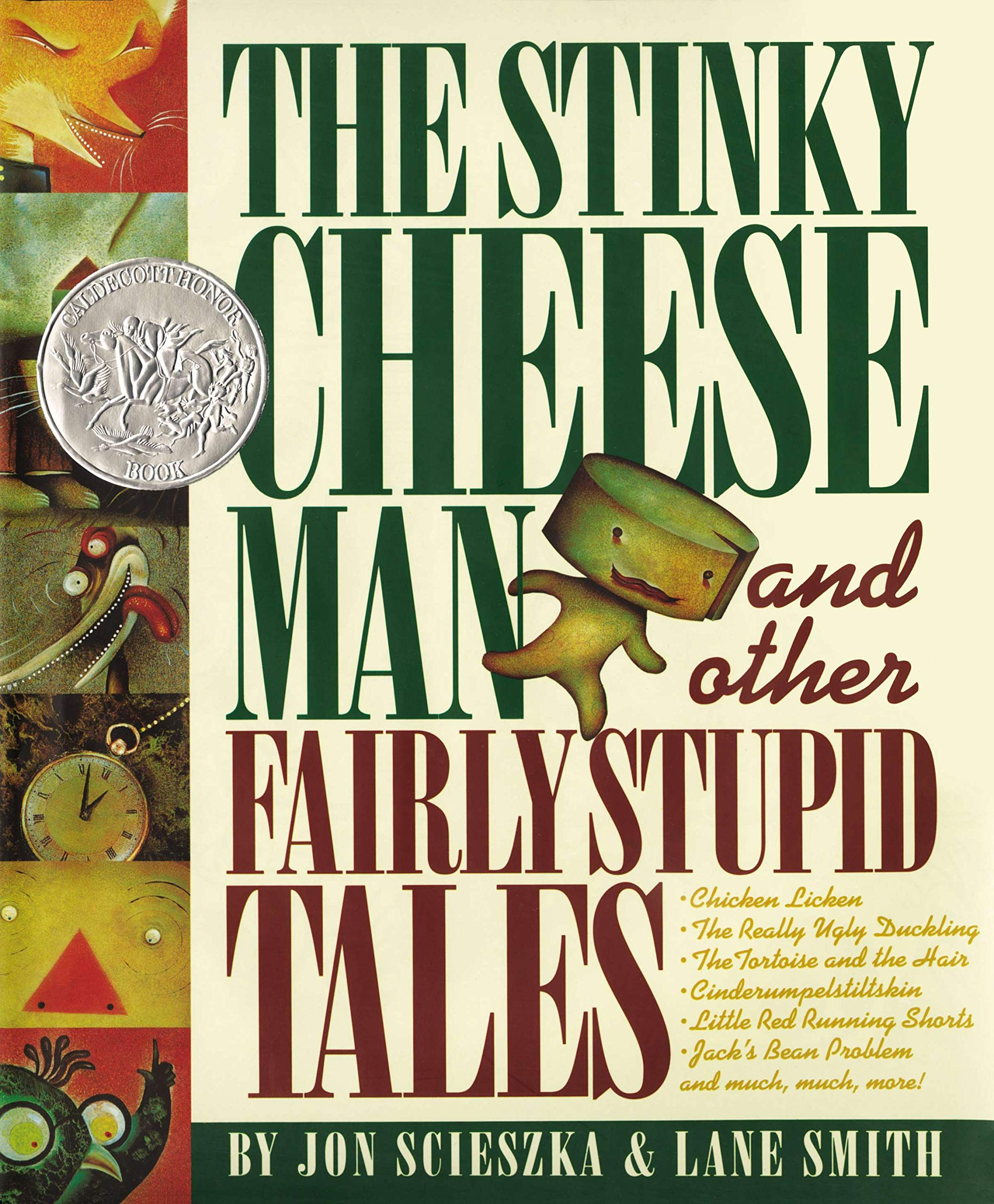 "Cover of ""The Stinky Cheese Man and Other Fairly Stupid Tales"""
