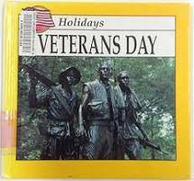 Book cover of Veterans Day